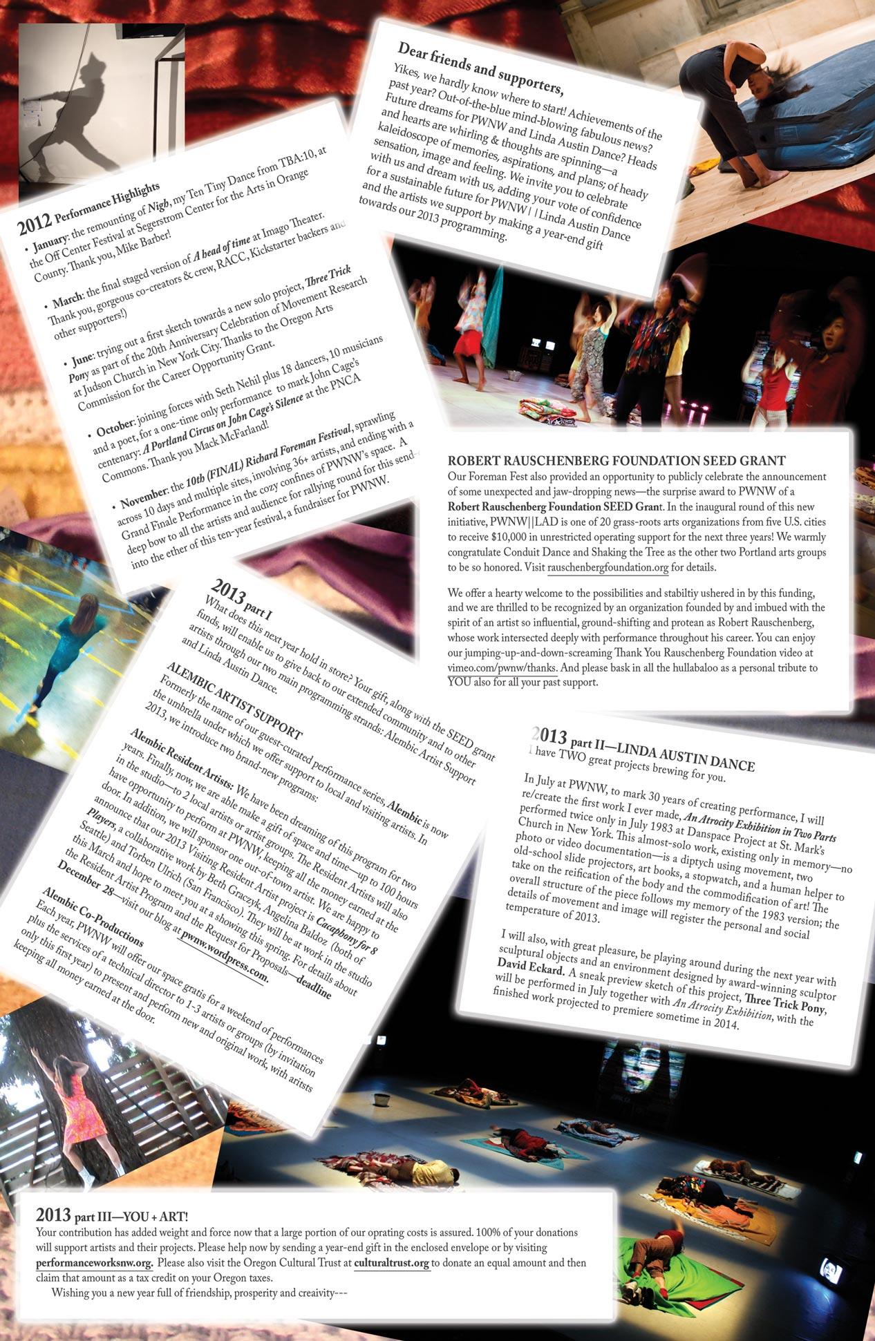 Happy Solstice | Performance Works NW || Linda Austin Dance