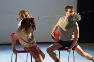 Seth Thomas & Charles Boardman (Boris & Natasha Dancers | photo: J.C. Schlechter