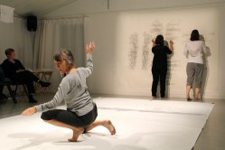 The Word Hand (Linda Austin, Pat Boas & Linda Hutchins)   photo: Chelsea Petrakis